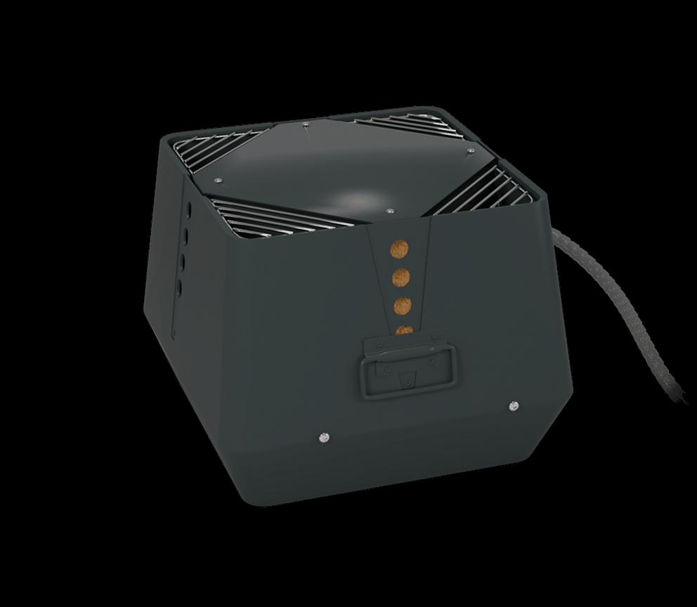 Rauchsauger Exodraft RSV - vertikal auswerfend