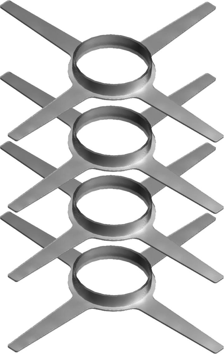 Montageschelle, 4 Stück - Kunststoff für Jeremias EW-PPS