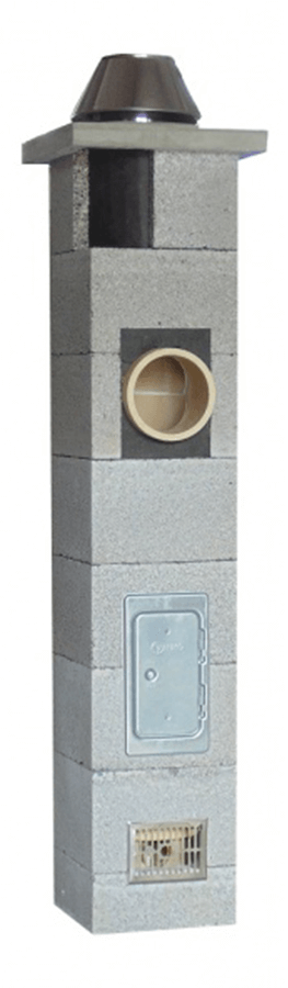 Keramikschornstein NIKO UNI - Ø 180 mm