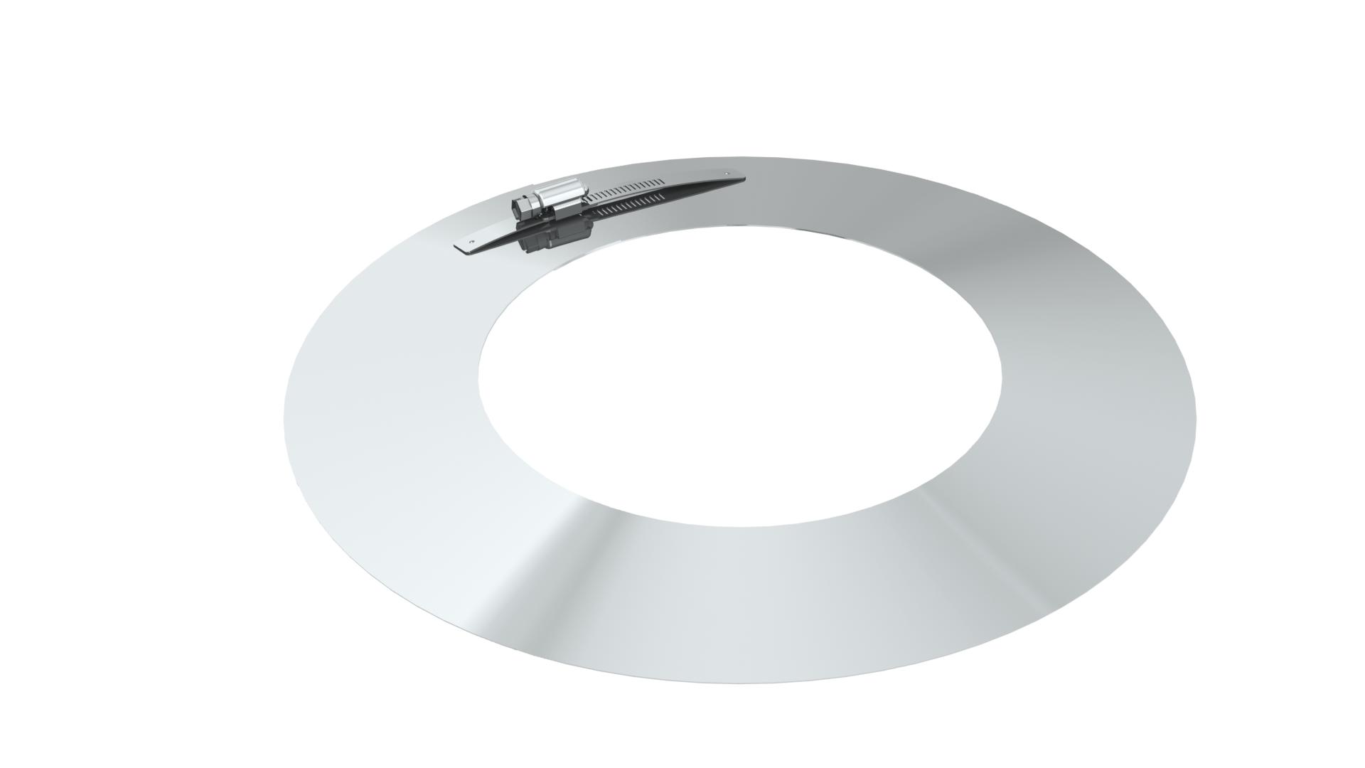 Wandrosette - doppelwandig - Tecnovis TEC-DW-Standard