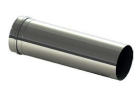 Edelstahlrohr L = 500 mm V2A