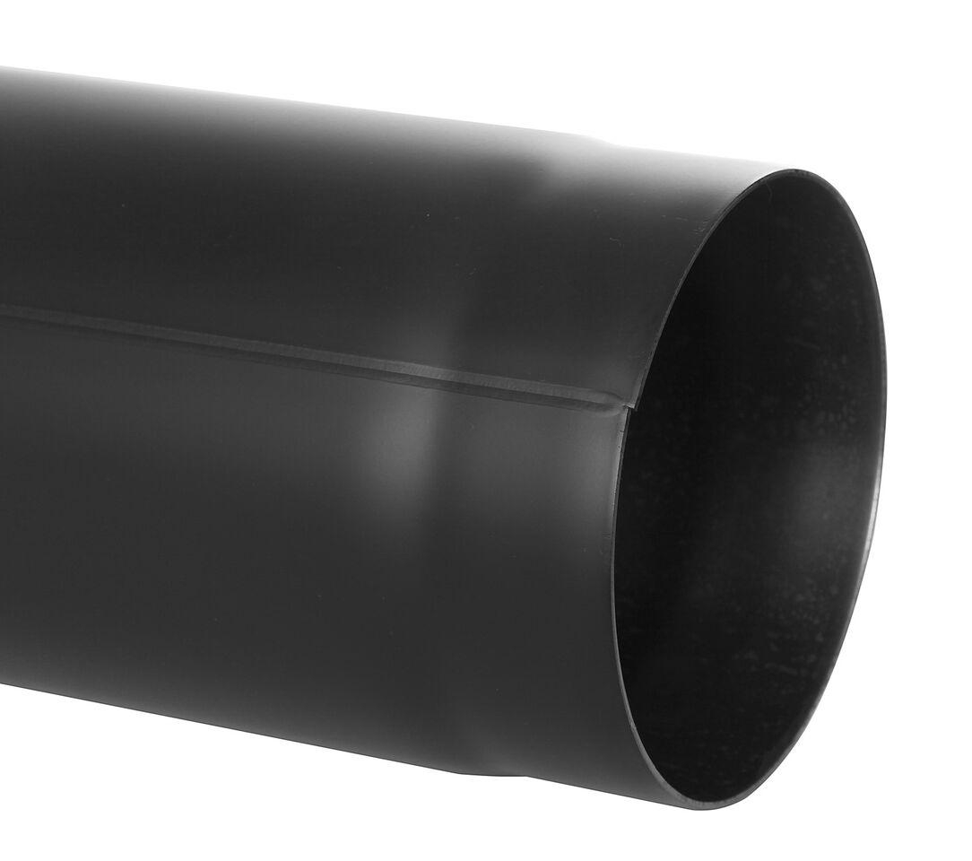 Ofenrohr - Längenelement 1000 mm schwarz - Tecnovis TEC-Stahl
