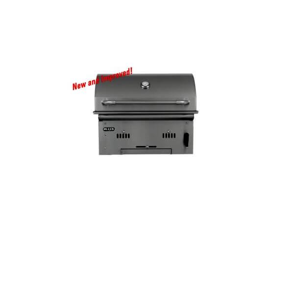 Holzkohlegrill Bull BBQ Bison Premium Burner Built In
