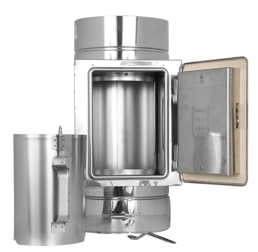 Reinigungselement bis 600° C - doppelwandig - Tecnovis TEC-DW-Standard
