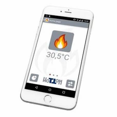 Pelletofenzubehör Edilkamin - Kit Wi-Fi H (App Fire)