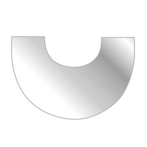 Kaminzubehör Austroflamm - Clou Xtra Glasbodenplatte