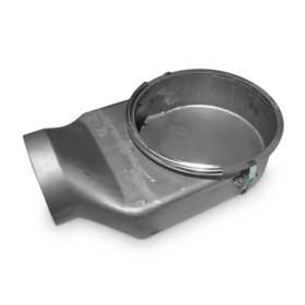 Kaminzubehör Spartherm - Separater Verbrennungsluftstutzen 150mm