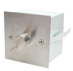Luftklappengrife quadratisch 85x85 mm - Aufputz - Kutzner & Weber