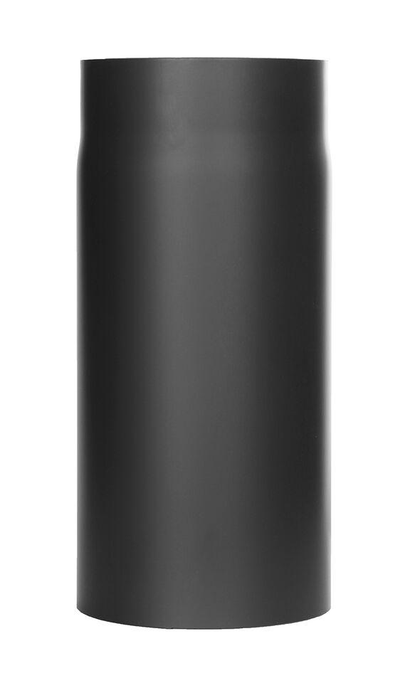 Ofenrohr - Längenelement 330 mm schwarz - Tecnovis TEC-Stahl