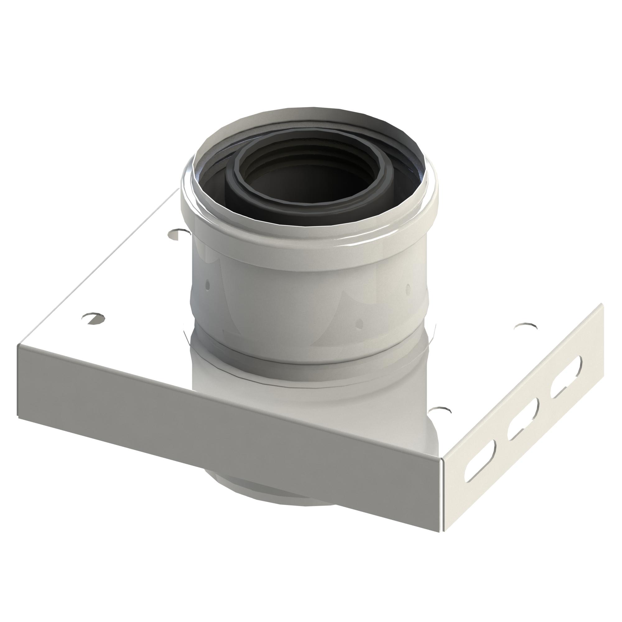 Grundplatte für Zwischenstütze - konzentrisch für Tecnovis TWIN-PL
