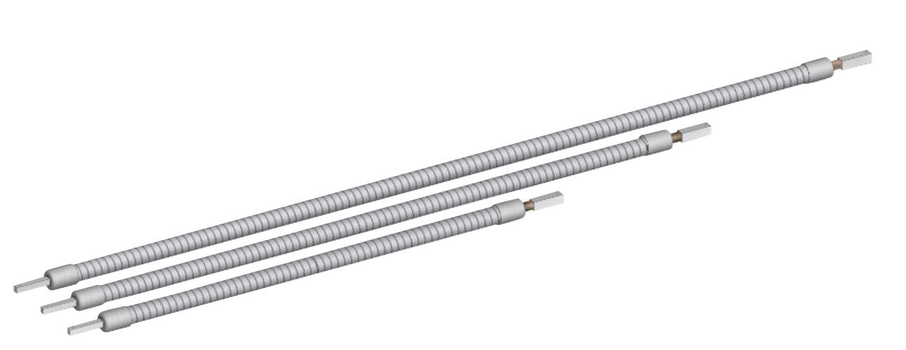 Flexible Welle - 9,5mm Wellenseele Außenvierkant 8x8mm - CB-tec