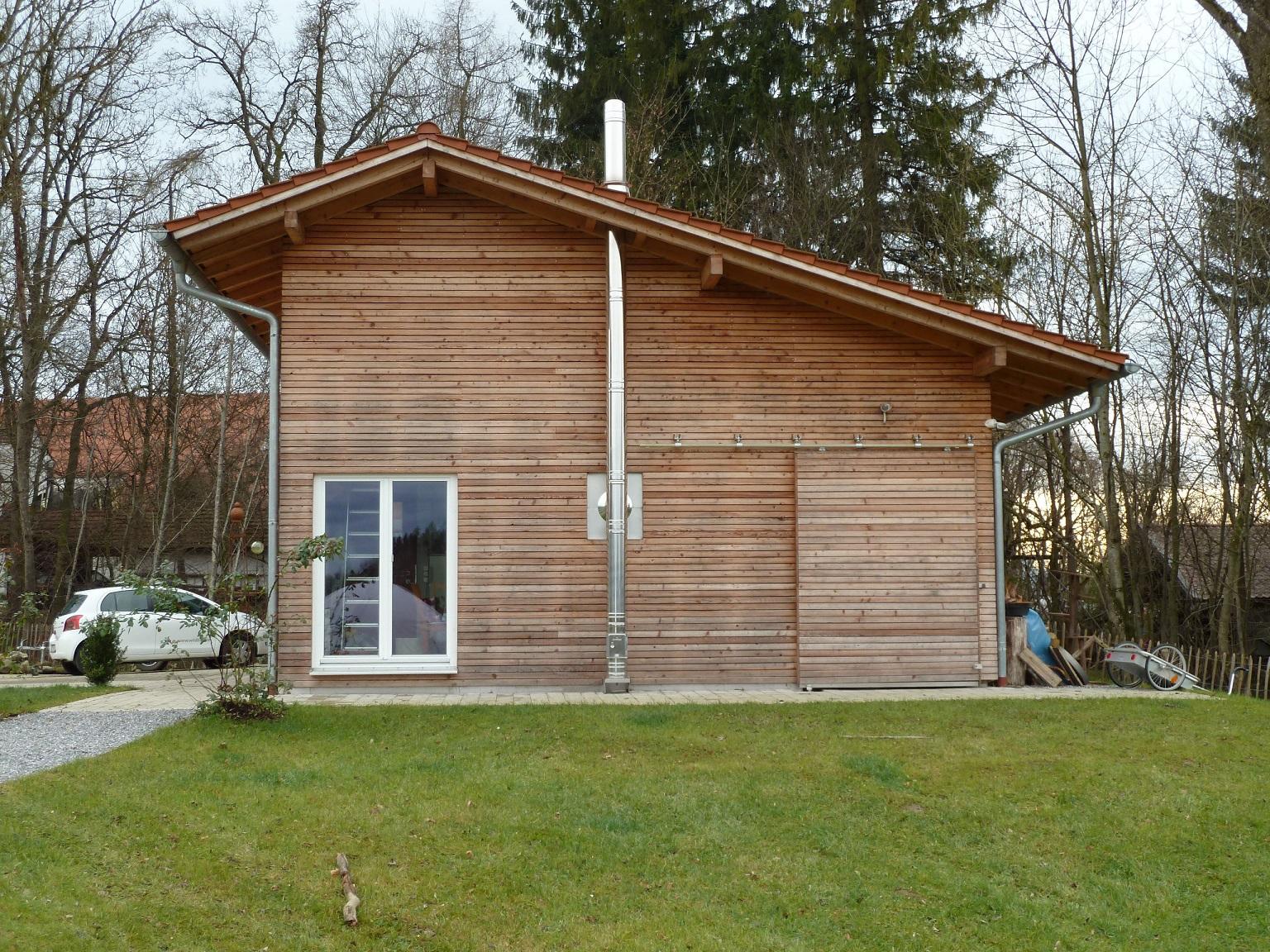 Edelstahlschornstein Bausatz Ø 300 mm - doppelwandig - Tecnovis DW-Silver