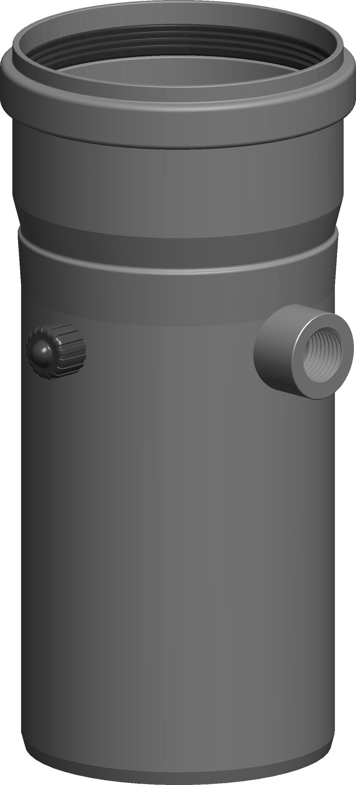 Anschlussstück mit L = 250 mm und 1/2'' Muffe für Sicherheitstemperaturbegrenzer -Kunststoff Jeremia