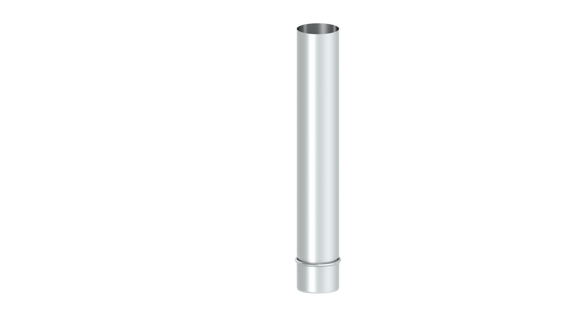 Mündungsrohr 1000 mm Edelstahl für Kopfabdeckung für Jeremias EW-PPS