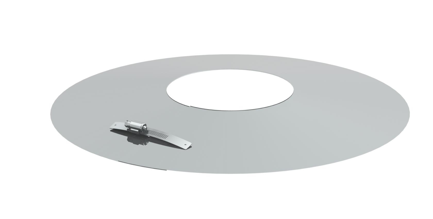 Wandrosette für Tecnovis TWIN-Systeme