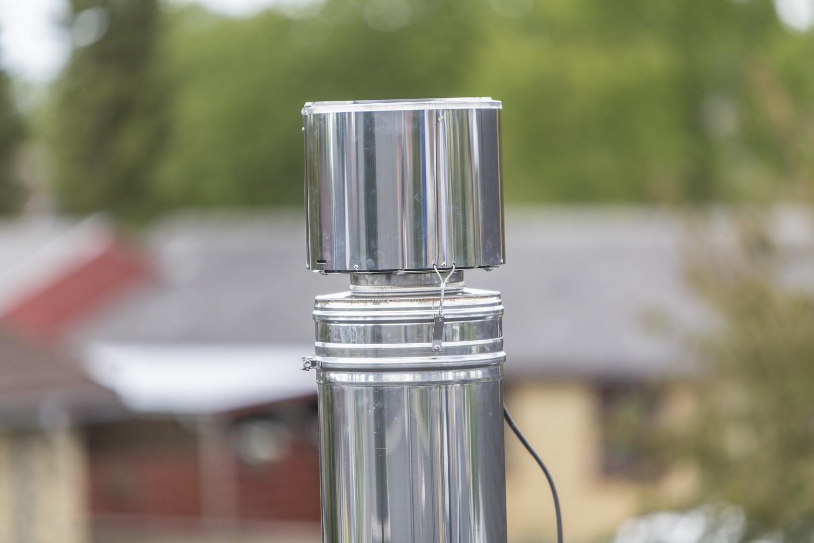 Rauchsauger Exodraft RBV1 - vertikal auswerfend