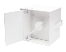 Lufklappengriffe quadratisch 85x85 mm - mit Deckel - Kutzner & Weber