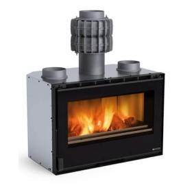 Kamineinsatz La Nordica Inserto 80 PRS Crystal - Ventilato 8,3 kW