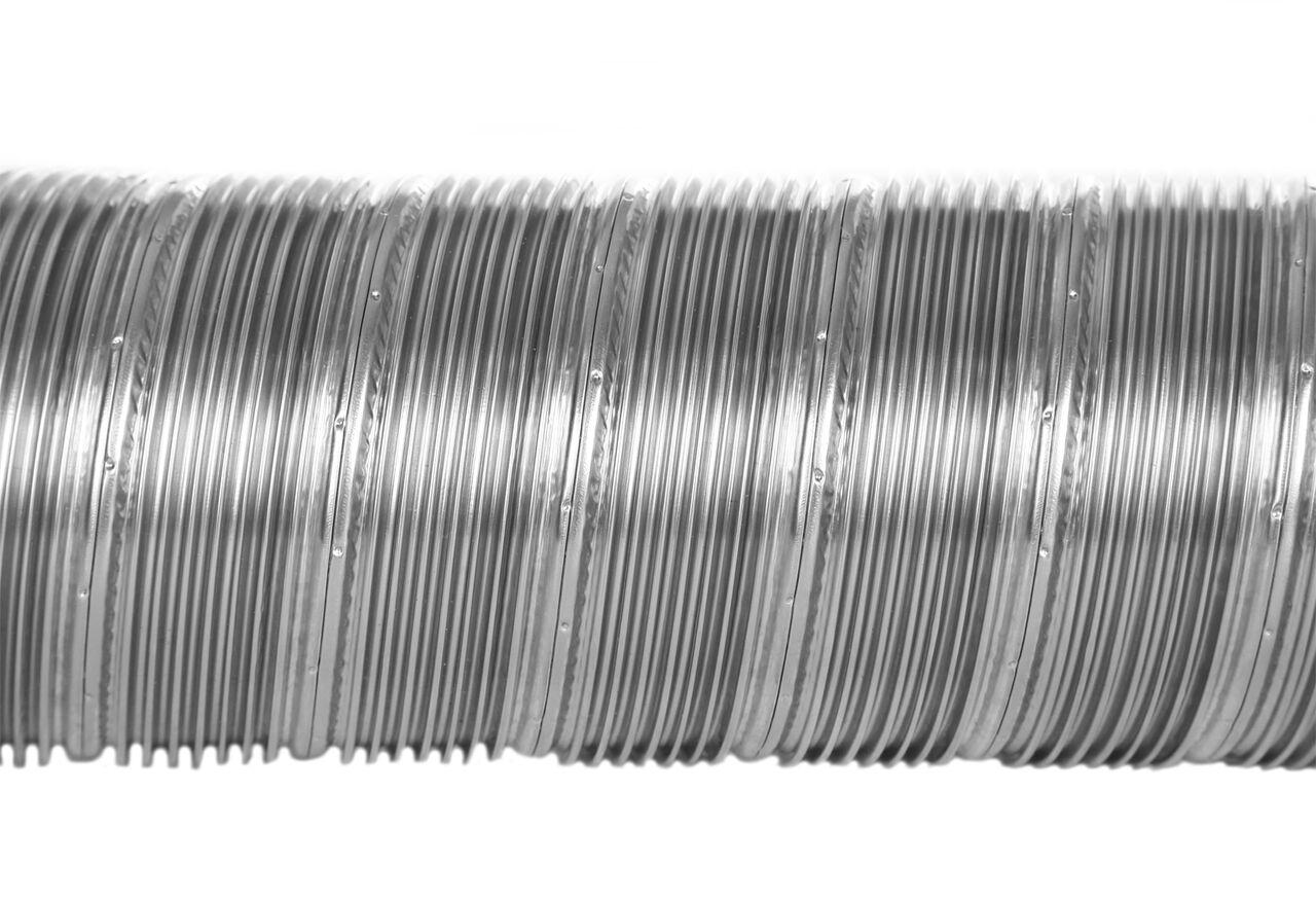 Flexrohr einlagig Ø 100 mm, Edelstahl