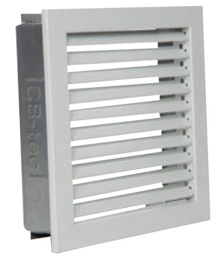 Warmluftgitter Standard Aufputz - CB-tec