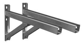 Wandstützen & Querträger, Typ II, 500 mm (WA= 50-150mm)