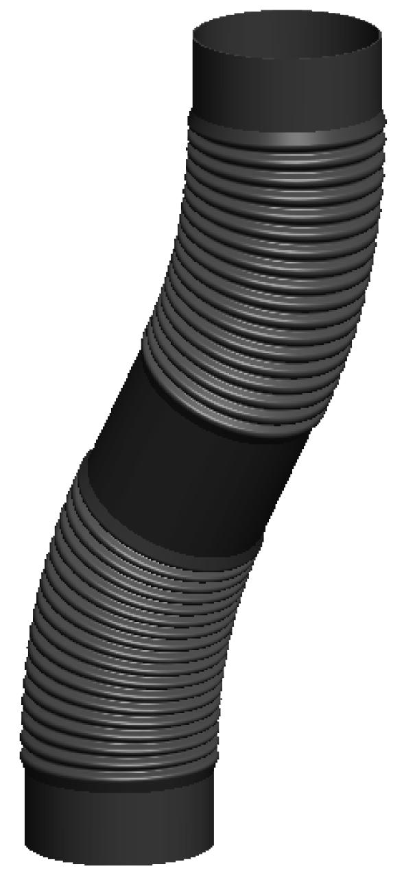 Flexrohr / 75 m, Ø 60 mm - Kunststoff für Jeremias EW-PP-FLEX