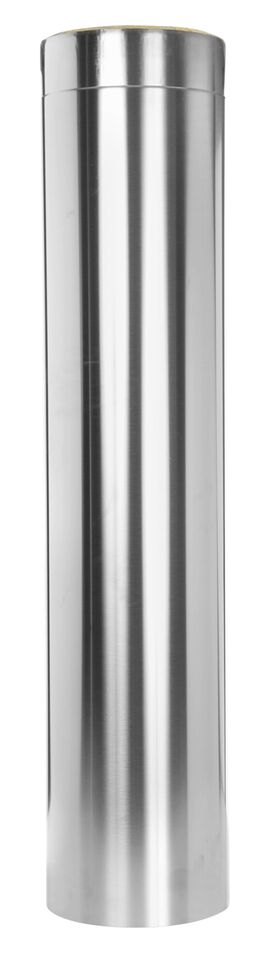 Längenelement 1000 mm - doppelwandig - Tecnovis TEC-DW-Design