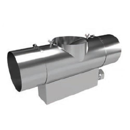T-Stück mit Aschebox Baulänge 250 mm für Feinstaubabscheider - Kutzner & Weber