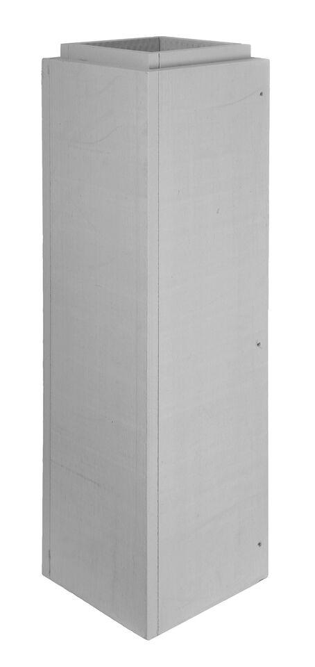 Leichtbauschornstein - Schachtelement 1000 mm verschraubt - Tecnovis FURADO-F