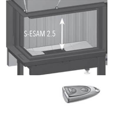 Kaminzubehör Spartherm - SESAM 2.5 für Arte U-70h