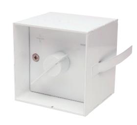 Luftklappengriffe quadratisch 75x75 mm - vertieft - Kutzner & Weber