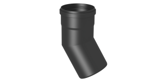 Winkel 30° starr - Kunststoff